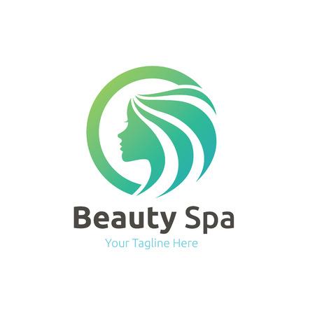 beauty care logo,feminine logo,beauty salon logo,vector logo