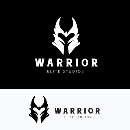 viking: warrior,Skull logo,tattoo vector,vector logo template