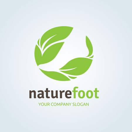 Foot care ,foot spa ,foot symbol ,foot icon,vector template Vectores