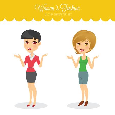 eyepiece: Womans fashion.
