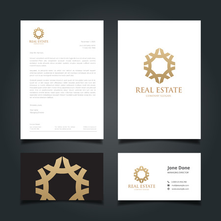 Luxury Logo,hotel logo, royal brand, boutique and spa logo, logo design and Corporate Identity Template. Logo