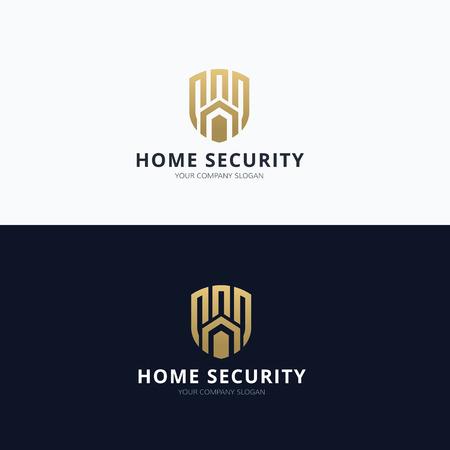 security logo: Home Security Logo, Real estate logo
