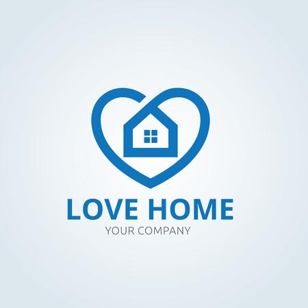 house logo: Home Control logo, house logo Illustration