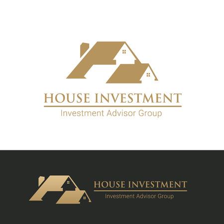 house logo: House Investment logo template Illustration