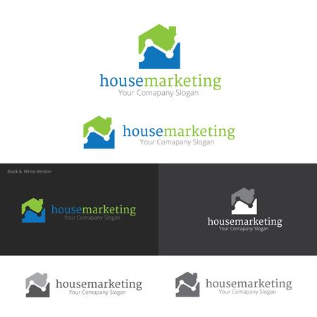 house logo: House marketing logo