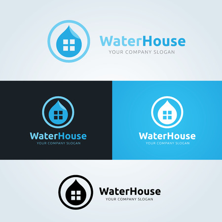 house logo: Water House logo