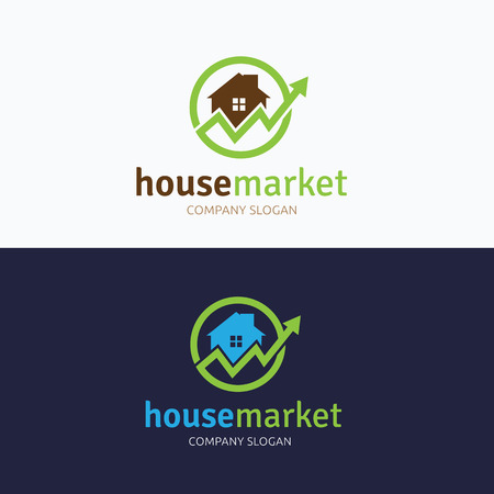 renter: House market logo Illustration