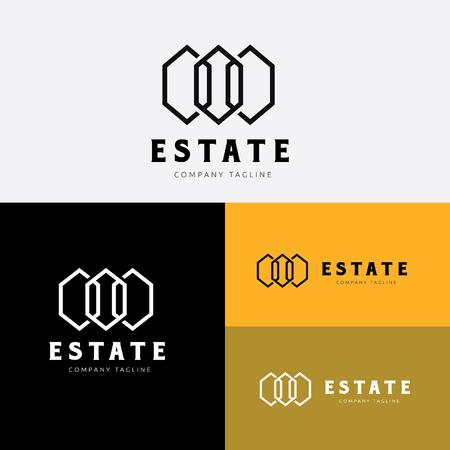 homeowner: Real estate logo template