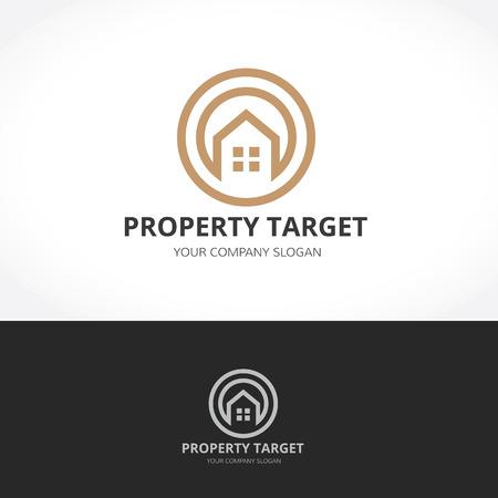 homeowner: Property target logo