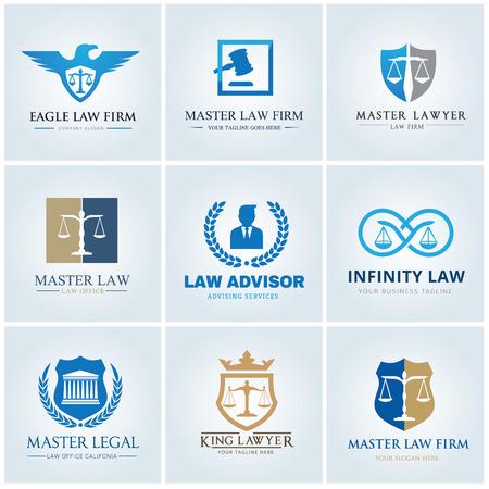 会社ロゴのコレクションの法律
