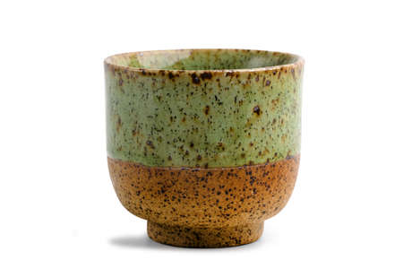 Ceramic Tea Mug, ceramic coffee or tea cup isolated on white background.