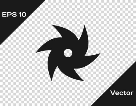 Grey Tornado icon isolated on transparent background. Cyclone, whirlwind, storm funnel, hurricane wind or twister weather icon. Vector Illustration Foto de archivo - 133594487