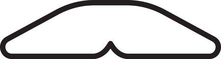 Black line Homemade pie icon isolated on white background. Vector Illustration Vettoriali
