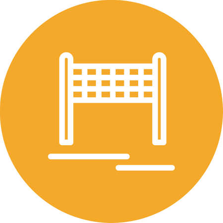 vector volleyball net Icon