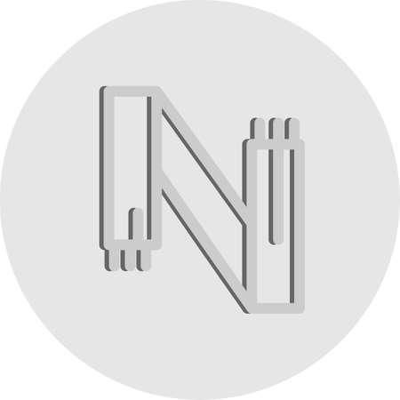 vector muffler Icon