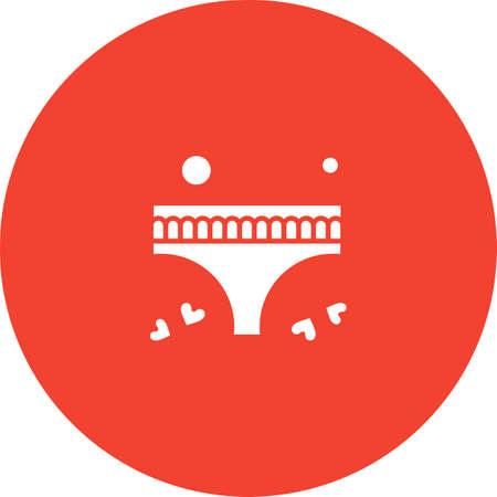 vector underwea Icon