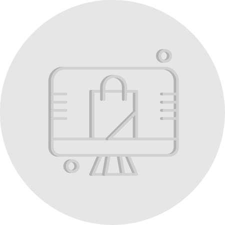 vector Bag Icon Stock fotó - 155447992