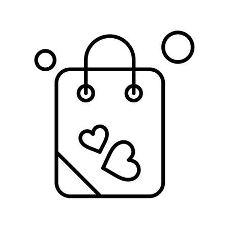 vector Bag Icon Stock fotó - 155448078