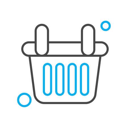vector basket Icon Stock fotó - 155448165