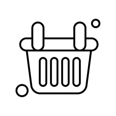 vector basket Icon