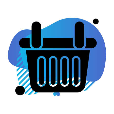 vector basket Icon Stock fotó - 155448433