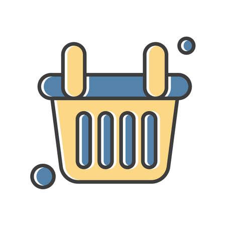 vector basket Icon Stock fotó - 155448615