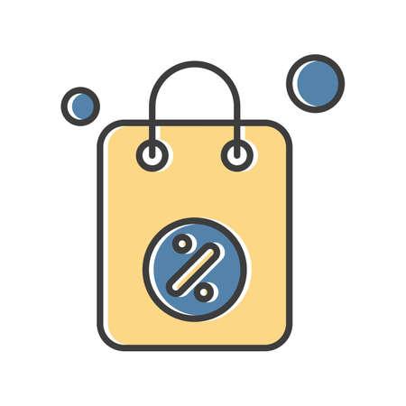 vector Bag Icon Stock fotó - 155448639