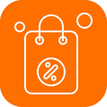 vector Bag Icon Stock fotó - 155448754
