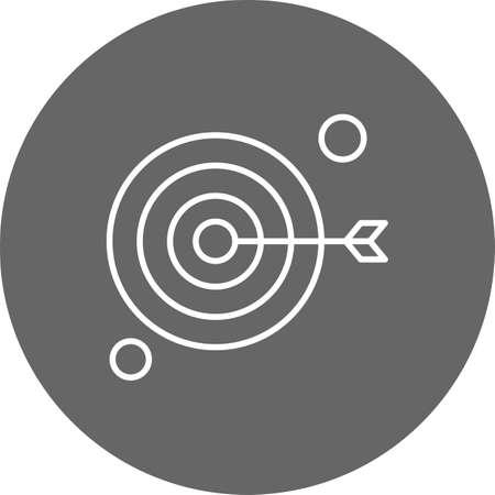 vector target Icon Ilustração