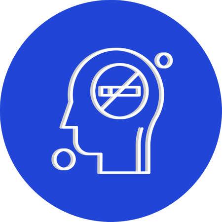 vector man Icon Illusztráció