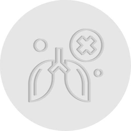vector Cancer Icon Illusztráció