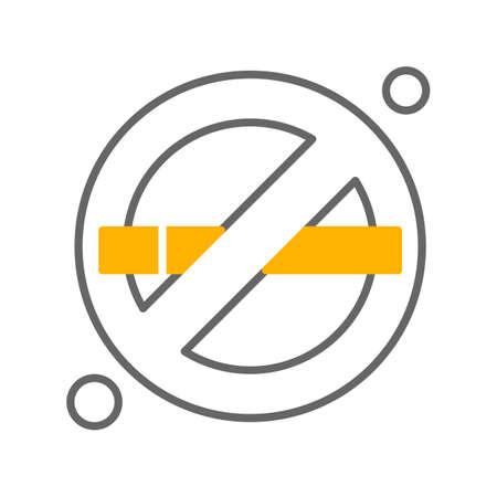 vector forbidden Icon Illusztráció
