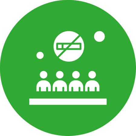 vector no smoking Icon