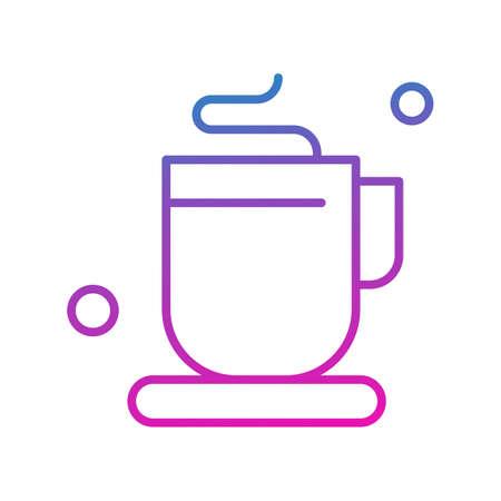 vector tea Icon Illusztráció