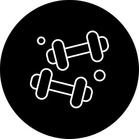 vector Dumble Icon