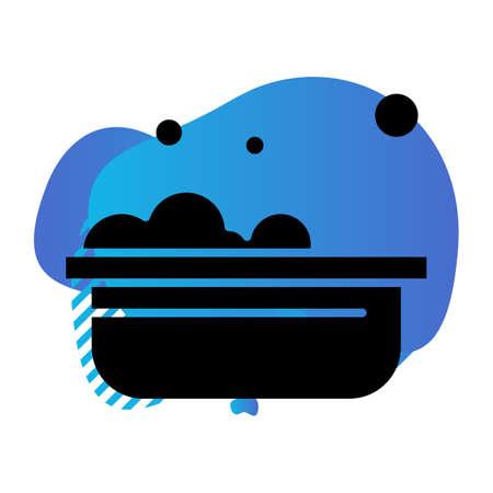 vector Bathtub Icon