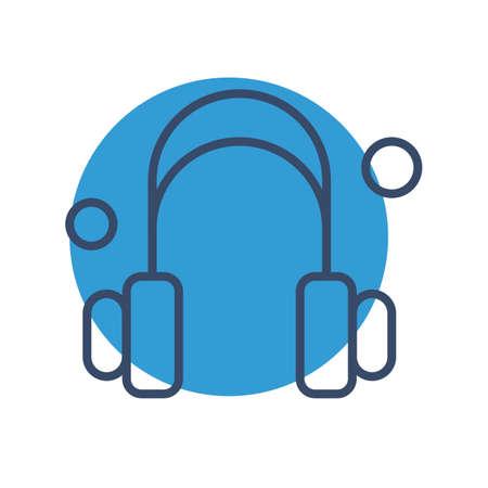 vector headphone Icon