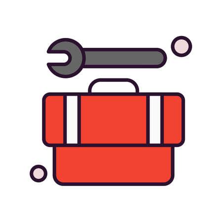 vector tool box Icon
