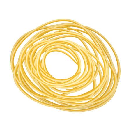 Pasta of italian cartoon vector icon.Cartoon vector illustration pasta and spaghetti,. Isolated illustration of italian food icon on white background.