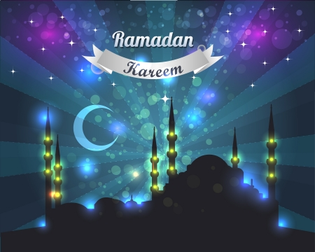 Ramadan Kareem Vector Design Illustration