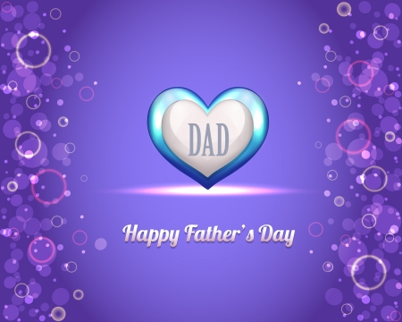 Happy Father s Day Vector Design