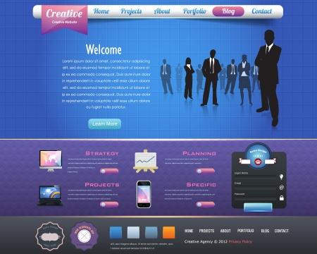 Business Website design elements