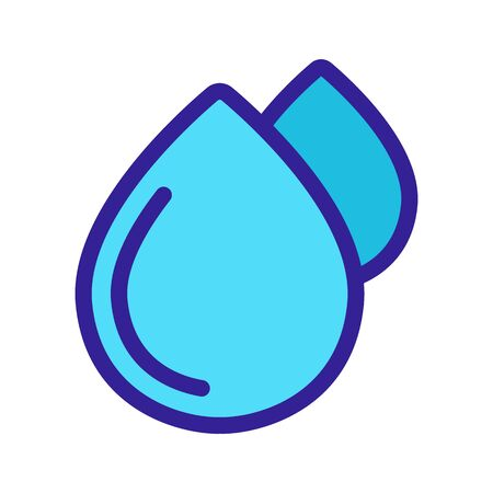 Water extraction icon vector. Thin line sign. Isolated contour symbol illustration