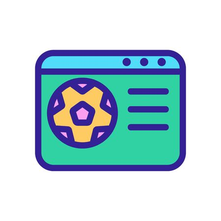 Air conditioner icon vector. A thin line sign. Isolated contour symbol illustration