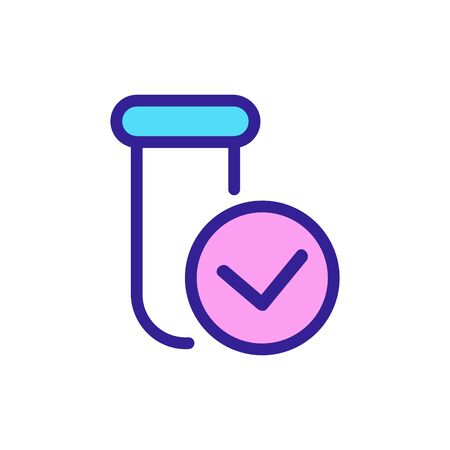 Found drug icon vector. Thin line sign. Isolated contour symbol illustration