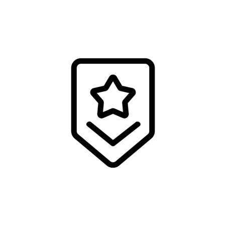 Army of the race icon vector. Thin line sign. Isolated contour symbol illustration