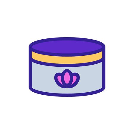 Lavender soap oil icon vector. Thin line sign. Isolated contour symbol illustration Illusztráció