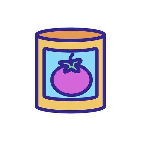 tomato icon Thin line sign. Isolated contour symbol illustration