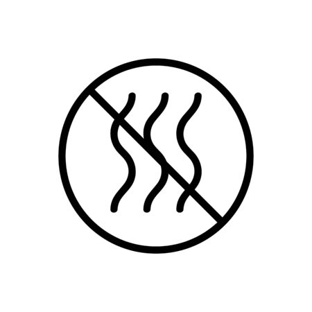 cat litter Icon vector. Thin line sign. Isolated contour symbol illustration Vektorgrafik