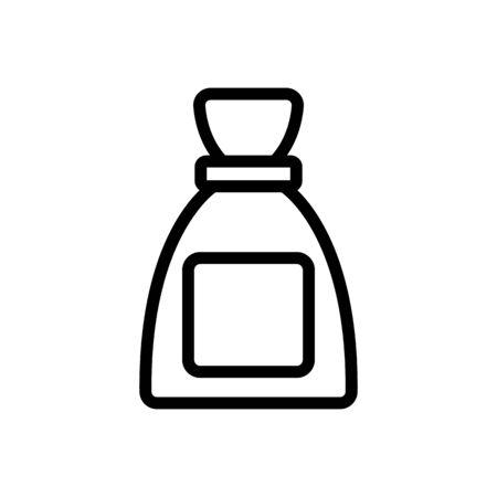 women perfume icon vector. Thin line sign. Isolated contour symbol illustration